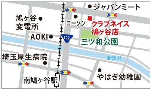 鳩ヶ谷店の地図