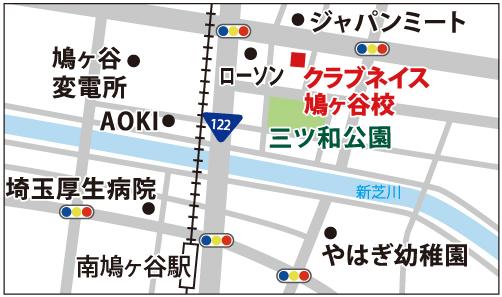 鳩ヶ谷校の地図