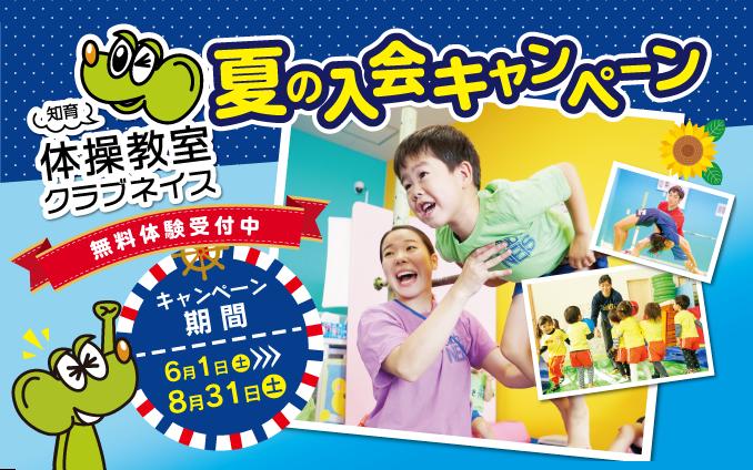 【8月31日まで!】夏の入会キャンペーン