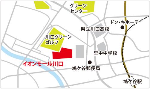 イオンモール川口校 ※6/1(火)OPENの地図